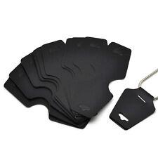 50pcs Black Necklace Jewelry Display Cards 12.2*4.5 cm