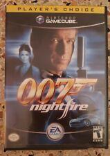 007: NightFire (Nintendo GameCube, 2002, complete)