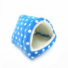 Blue Hammock for Ferret Rabbit Guinea Rat Hamster Squirrel Mice Bed Toy House