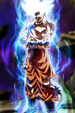 Dragon Ball Super Poster Goku Ultra Instinct Mastered 12in x 18in Free Shipping
