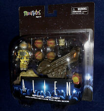MiniMates ALIEN Space Jockey w/ Infected Kane and Eggs Deluxe Action Figure Set