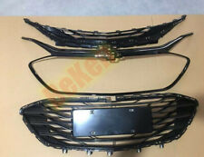 2019-2020 FIT For Chevrolet Malibu Glossy Black ABS Front Upper+ Lower Grille 3X