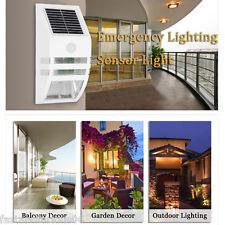Lampada Solare applique a parete da esterno LED Wireless Giardino Faretto White