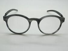 NEW Authentic IC BERLIN Werner A. Matte Smokey Grey/Black 48mm Eyeglasses