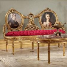 FRENCH ROCOCO PORTRAIT SOFA, LUXUS SITZMÖBEL, ROYAL Seating SOFA, SUPERIOR BANK
