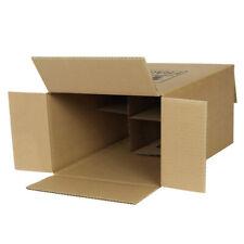 Shipping Boxes Cartons Packaging Box 380x120x120 mm Bottle Carton Brown