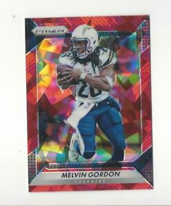 2016 Panini Prizm Prizms Red Crystals #86 Melvin Gordon Chargers /75