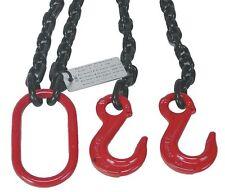 DAYTON 2UKD9 Chain Sling G80 DOS Alloy Steel 5 ft 6100 lb Two Hook 9/32 24101611