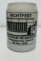 Unique West German Pottery Beerstein / Tankard 1980s Collectable gymnastics