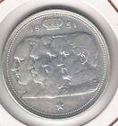 C.R 0285 MONEDA DE PLATA BELGICA 100 FRANCOS 1951