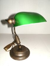 Desk lamp american ministry old england brass burnished office
