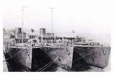 rp17163 - Royal Navy Warships - HMS Hepatica , Windflower , Snowberry - photo