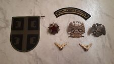 Serbia Yugoslavia Army Beret Badges Patch lot of 7 pieces