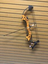 Bear Brave Youth Compound Bow Package, Orange, RH, 15-25lb.  Lot: Bow08072014