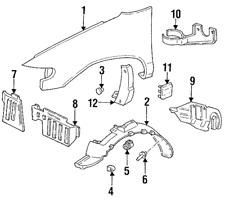 Genuine Nissan Fender Liner Clip 63848-D4001
