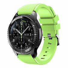 Screen protector Silicone Slim Skin Cover Wristband For Samsung Gear S3 Frontier