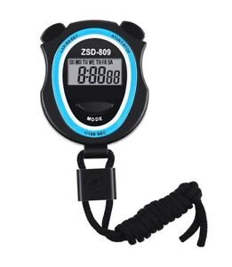 Digital Stopwatch, Multi-Function Electronic Digital Sport Stopwatch Timer UK