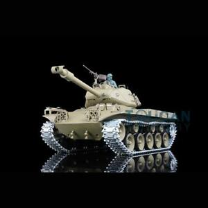 US Stock Henglong 7.0 1/16 Upgraded Walker Bulldog RTR RC Tank 3839 Metal Tracks