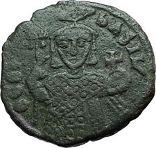 THEOPHILUS 835AD Victory vs ARABS Follis Authentic Ancient Byzantine Coin i66253