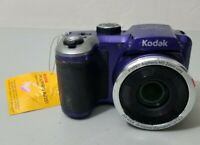 Kodak Astro Zoom AZ251 16 MP Digital Camera - Purple *GOOD/TESTED*