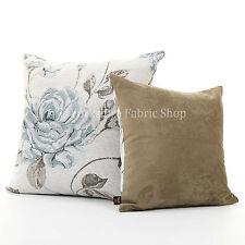 Chenille Floral & Garden Square Decorative Cushions