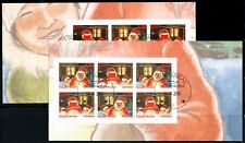 Greenland #580-581b Christmas booklet panes, VFU (TP00029)