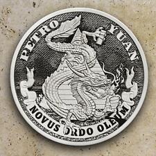 2018 1oz PETRO YUAN #17 DEATH OF THE DOLLAR  SILVER SHIELD GROUP 777