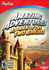 POPCAP GAMES PCG 2656 AMAZING ADVENTURES: THE RIDDLE OF TWO KNIGHTS New