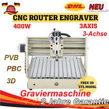 3 Achse 400W CNC 3040 Rounter Graveur Fräsmaschine Graviermaschine FRÄSE Desktop