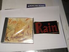 RAIN-bigditch 4707,sealed privateCD+sticker,2000,manowar,saxon,vanadiuml,accept