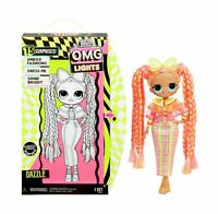 LOL Surprise OMG LIGHTS Doll DAZZLE with 15 Surprises SHINE IN THE DARK