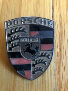 Porsche 911 hood crest emblem badge Original