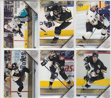 05/06 UD Series 1 Pittsburgh Penguins Team Set - Lemieux Recchi +