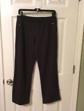 ATHLETA Women's Athletic Pants  Black Workout Yoga Running Wide Leg Size L/P