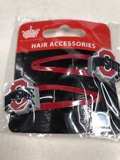 Ohio State Buckeyes Hair Accessories Barrette Z1