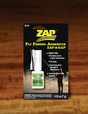 Zap A Gap Fly Tying Cement Medium Ca+ Fly and Jig Tying 0.25 oz Bottle