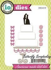 WEDDING CAKE Die Cutting Dies by Impression Obsession DIE243-W New