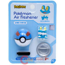 Pokemon Froakie Figure Vent Clip Air Freshener with Pokeball Auto Accessories