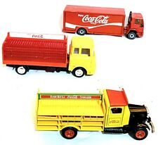 Mixed Lot of Toy Cars, Trucks, Diecast, Coca-Cola & Plastic Tallest 7�