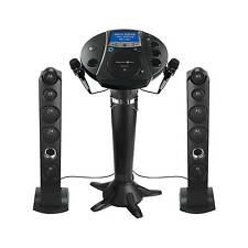 Singing Machine iSM1030BT Bluetooth Pedestal Karaoke System