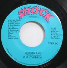 Hear! Northern Soul 45 Cb Overton - Superstar Lady / When It Rains It Pours On S