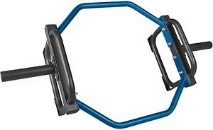 CAP BARBELL BLACK Olympic Trap Hex Bar Shrug Deadlift Gym Home Training FASTSHIP