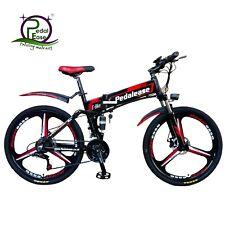 PedalEase folding electric bike 48V 500W - hidden battery - Black colour
