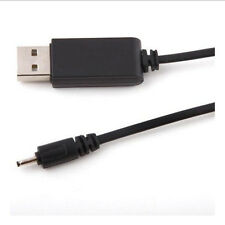 2mm 2.0mm Small Pin Plug Adapter USB Charger For Nokia Charging Cord Black Cable