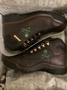 Mastermind Japan Timberland Field Boots Flat Shoes Skull Brown US 10 From Japan