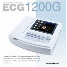 USA,Touch ECG Machine EKG 12 Channel electrocardiograph, Interpritation,Software