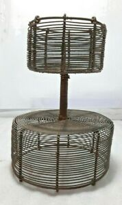 INDIEN VINTAGE HANDMADE IRON CANDLE STAND