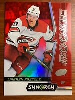 2018-18 Upper Deck Synergy Warren Foegele Rookie