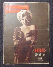 1953 PICTUREGOER Magazine MAY 9th VG- Marilyn Monroe - Niagara