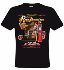 ROD HOTROD - HOT - WERKSTATT T-SHIRT SHIRT MEN HERREN ROCKABILLY MOTOR SHIRT